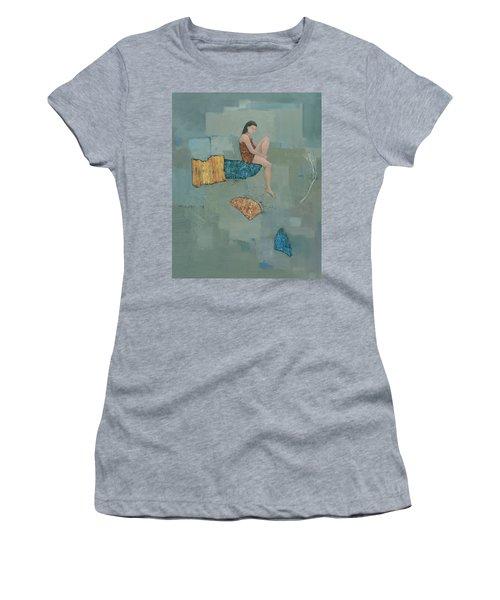Set Adrift Women's T-Shirt (Junior Cut) by Steve Mitchell
