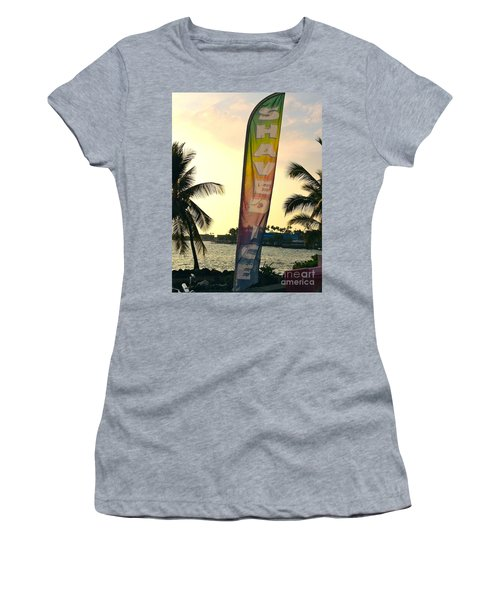Shaved Ice Women's T-Shirt (Junior Cut) by Beth Saffer