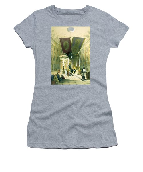 Shrine Of The Holy Sepulchre April 10th 1839 Women's T-Shirt (Athletic Fit)