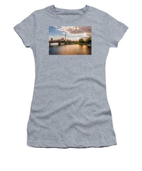 Women's T-Shirt (Junior Cut) featuring the photograph Silver Lake by Tom Gort