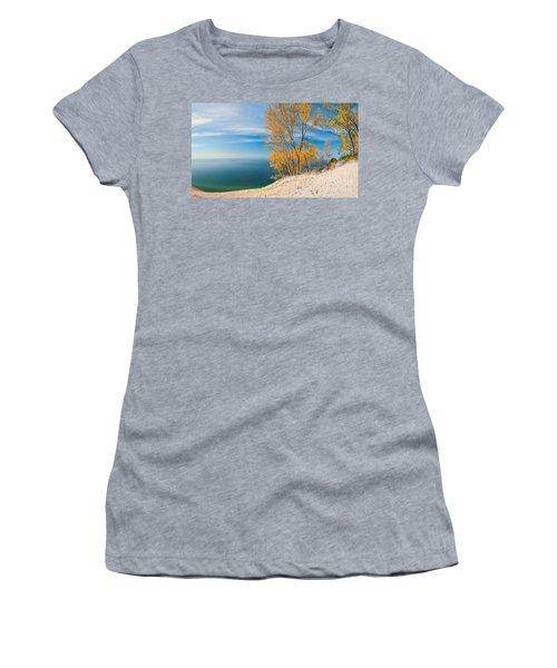 Sleeping Bear Dunes Vista 001 Women's T-Shirt (Athletic Fit)