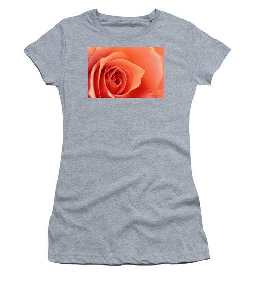 Soft Rose Petals Women's T-Shirt