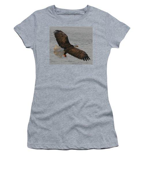 Spread Eagle Women's T-Shirt (Junior Cut) by Kym Backland