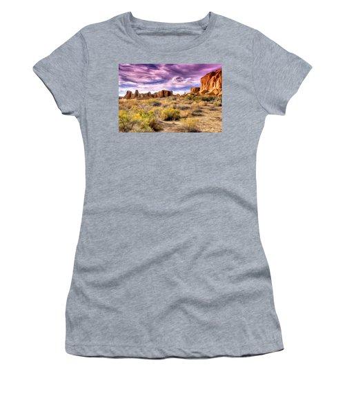 Spring Rain At Chaco Canyon Women's T-Shirt