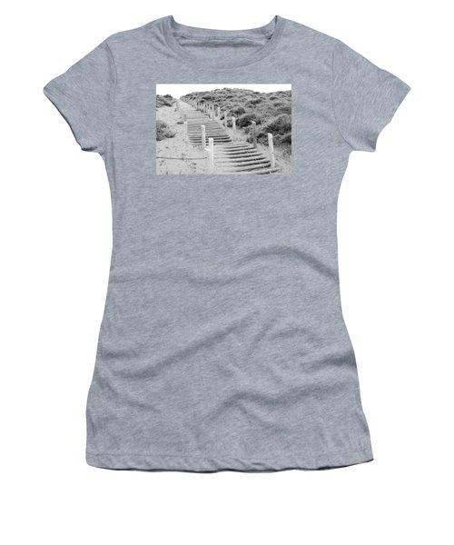 Stairs At Baker Beach Women's T-Shirt
