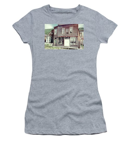 Women's T-Shirt (Junior Cut) featuring the photograph Stark Bros Store by Bonfire Photography
