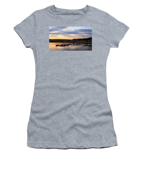 Sunset On The Lake Women's T-Shirt (Athletic Fit)