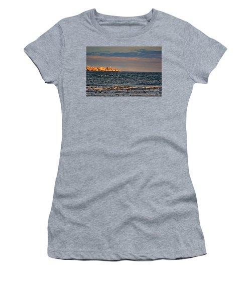 Sunset Over British Columbia Women's T-Shirt
