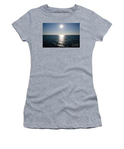 Sunshine Over The Mediterranean Sea Women's T-Shirt