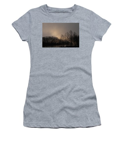 Susquehanna River Sunrise Women's T-Shirt