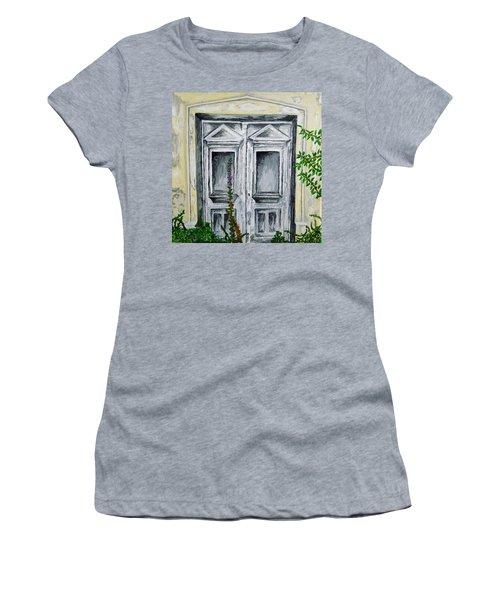 The Forgotten Door Women's T-Shirt (Athletic Fit)