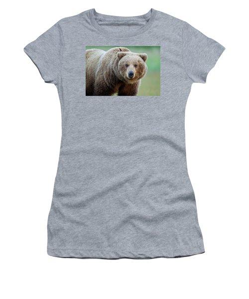 Women's T-Shirt featuring the photograph The Look by D Robert Franz