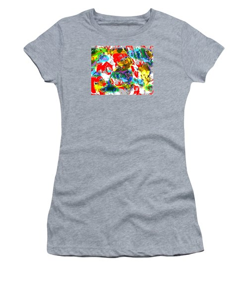 The Secret Lives Of Flowers Women's T-Shirt (Junior Cut) by Beth Saffer
