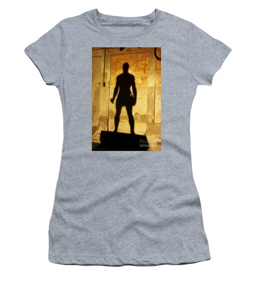 Women's T-Shirt featuring the photograph The Shadow Of The Statue by Agusti Pardo Rossello