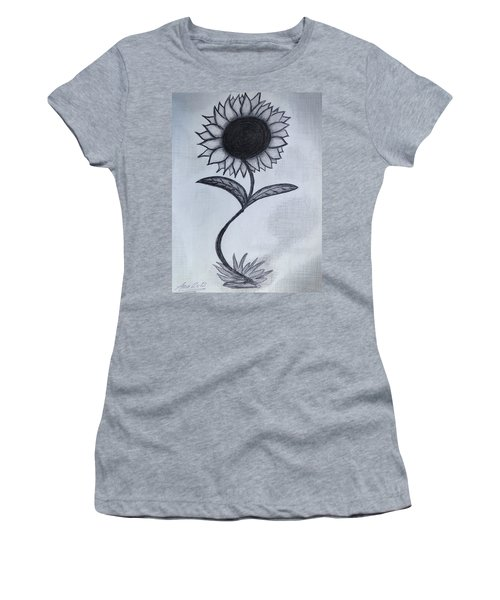 The Sunflower  Women's T-Shirt (Athletic Fit)