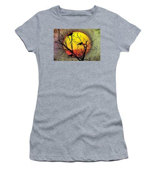 Three Blackbirds Women's T-Shirt (Junior Cut)