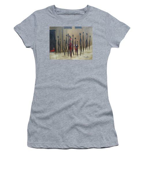 Too Busy To Notice Women's T-Shirt (Junior Cut) by Judith Rhue