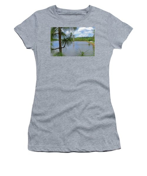 Tower Thru The Pine Women's T-Shirt (Junior Cut) by Larry Bishop