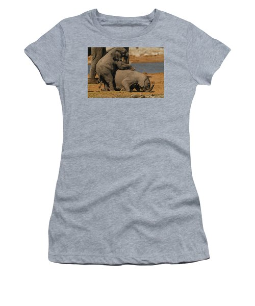 Us Together Women's T-Shirt (Athletic Fit)