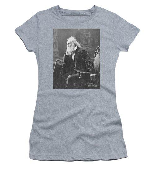 Walt Whitman, American Poet Women's T-Shirt
