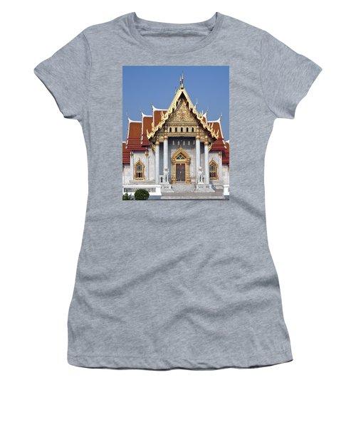 Wat Benchamabophit Ubosot Dthb180 Women's T-Shirt