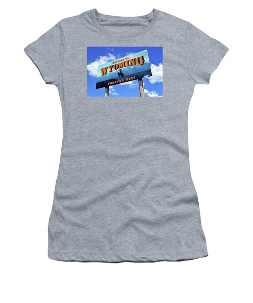 Welcome To The West Women's T-Shirt (Athletic Fit)