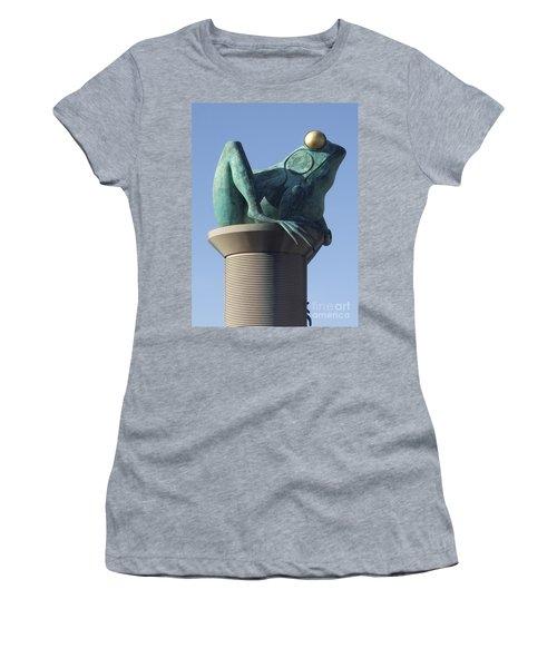 Willimantic Frog Bridge Women's T-Shirt (Athletic Fit)