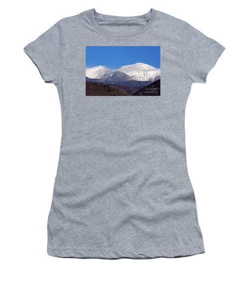 Windy Day At Mt Washington Women's T-Shirt (Athletic Fit)