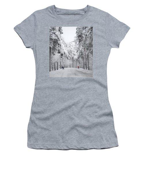 Winter Activities Women's T-Shirt