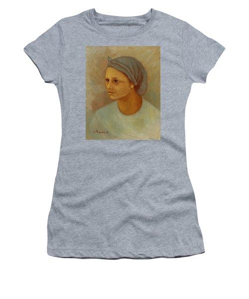 Working Woman Women's T-Shirt (Junior Cut) by Rachel Hershkovitz