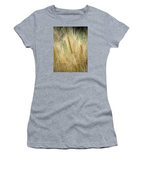 Foxtail Barley Women's T-Shirt (Junior Cut) by Jouko Lehto