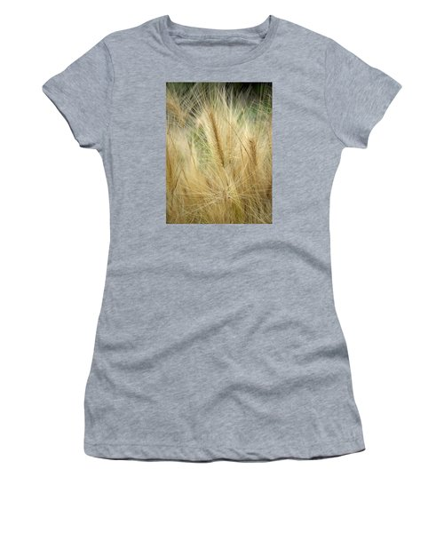 Foxtail Barley Women's T-Shirt (Athletic Fit)