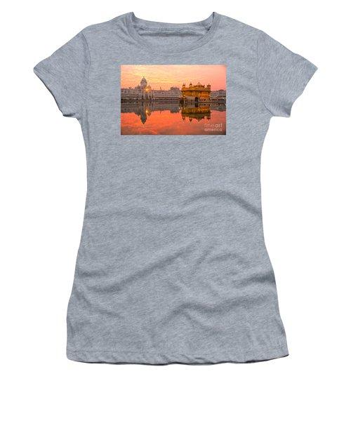 Golden Temple Women's T-Shirt (Athletic Fit)
