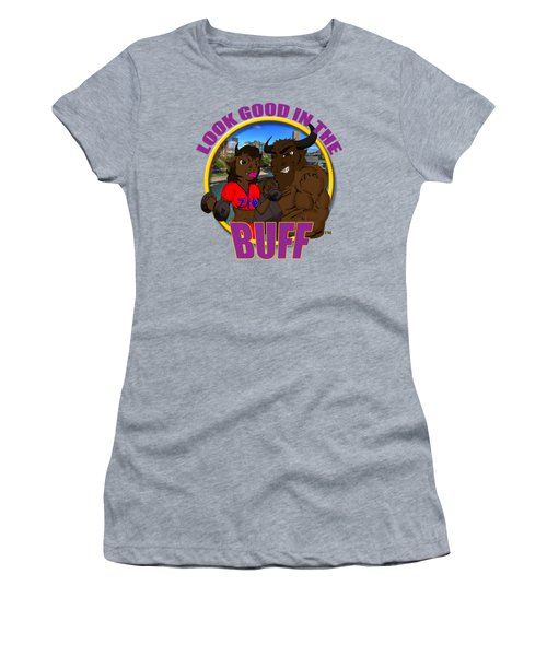 013 Look Good In The Buff Women's T-Shirt (Athletic Fit)