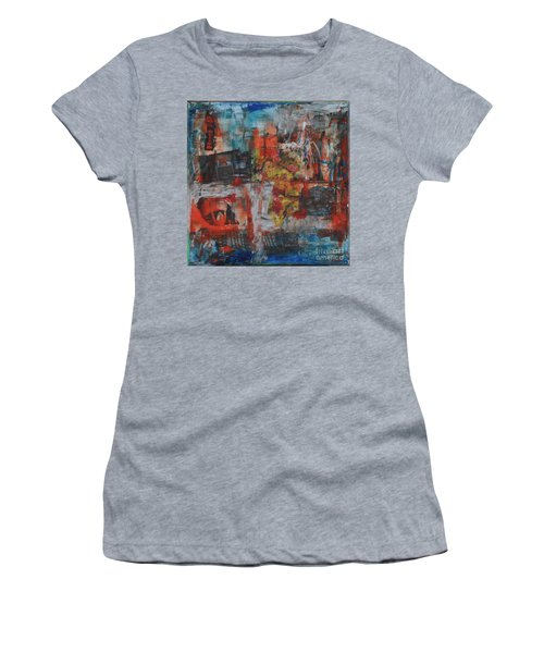 027 Abstract Thought Women's T-Shirt (Athletic Fit)