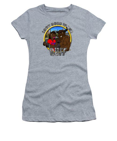 03 Look Good In The Buff Women's T-Shirt (Junior Cut) by Michael Frank Jr
