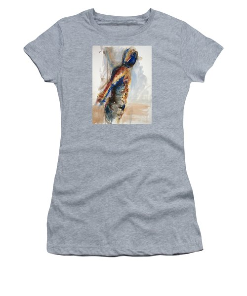 04860 Anticipation Women's T-Shirt (Junior Cut) by AnneKarin Glass