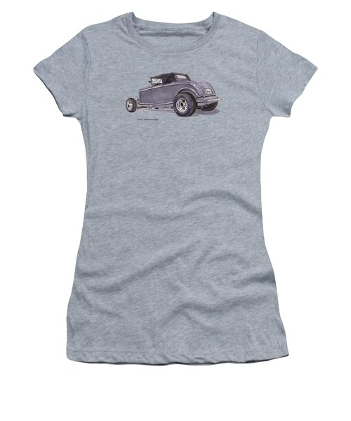 1932 Ford Hot Rod Women's T-Shirt (Athletic Fit)