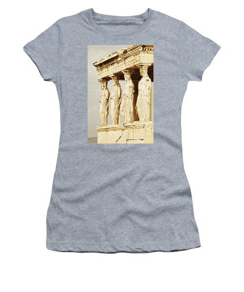 Acropolis Of Athens Women's T-Shirt