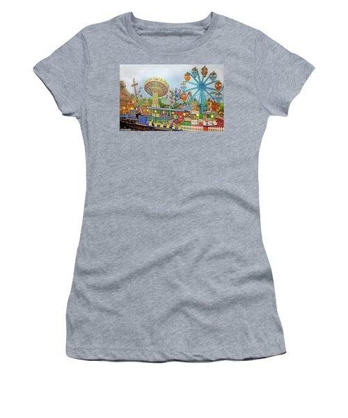 Adventureland Women's T-Shirt (Athletic Fit)