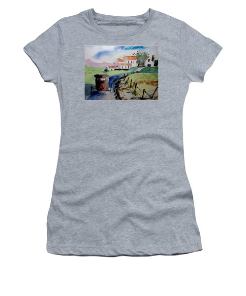 Amish Buggy Ride Women's T-Shirt (Athletic Fit)