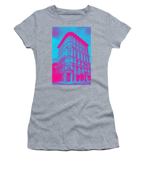 Archtectural Building Women's T-Shirt (Athletic Fit)