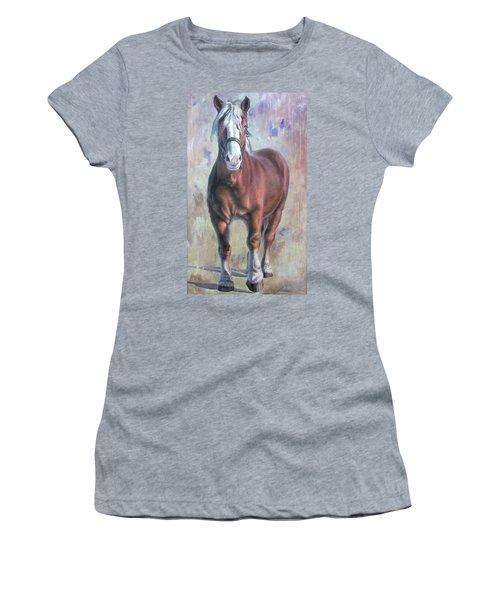 Arthur The Belgian Horse Women's T-Shirt