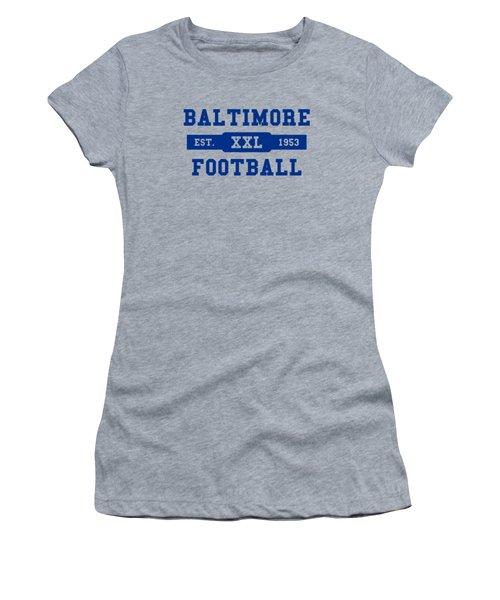 Baltimore Colts Retro Shirt Women's T-Shirt (Athletic Fit)