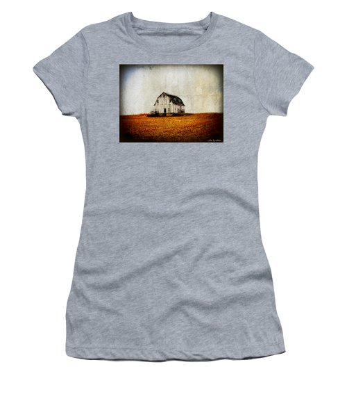 Barn On The Hill Women's T-Shirt (Athletic Fit)