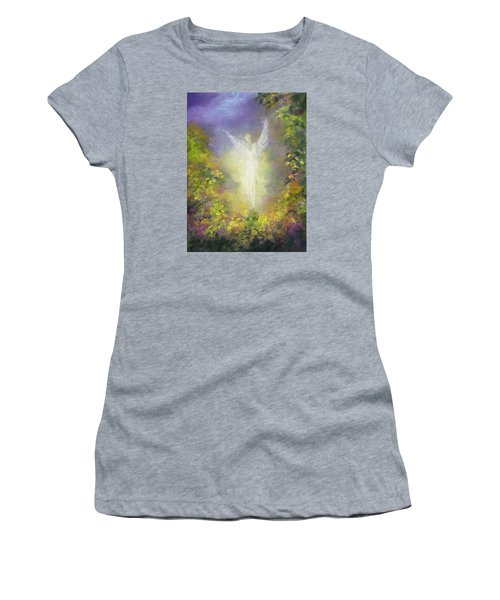 Blessing Angel Women's T-Shirt (Athletic Fit)