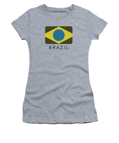 Brazil Flag Women's T-Shirt