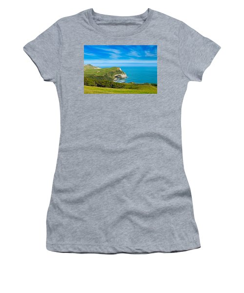 Cape Farewell Able Tasman National Park Women's T-Shirt (Athletic Fit)