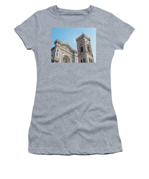 Cattedrale Di Santa Maria Del Fiore Is The Main Church Of Floren Women's T-Shirt