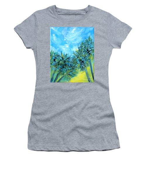 Collection Art  For Health And Life. Painting 10  Women's T-Shirt (Athletic Fit)